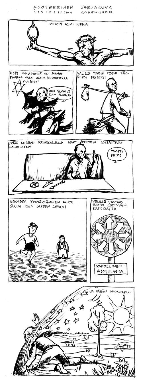 esoteerinen sarjakuva